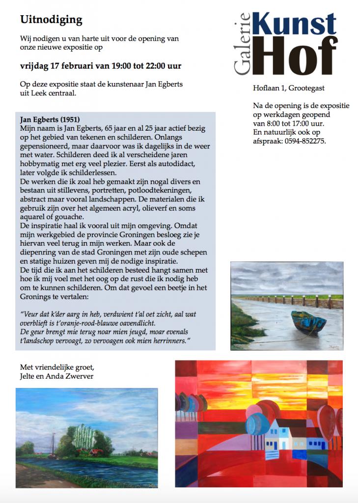 Uitnodiging februari 2017 Jan Egberts