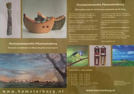 Voorjaarsexpositie Piloersemaborg