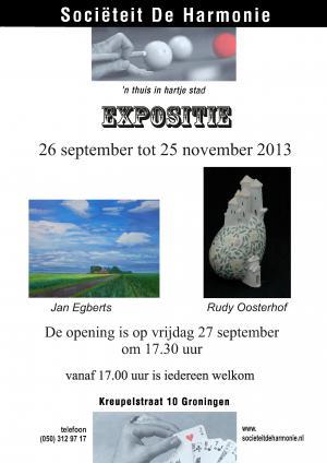 Expositie Jan Egberts in de Harmonie