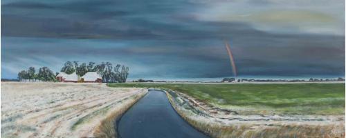 't Groninger Hogeland - 2011 - Acryl schilderij