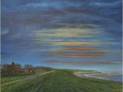 Termunten - 2011 - Acryl schilderij