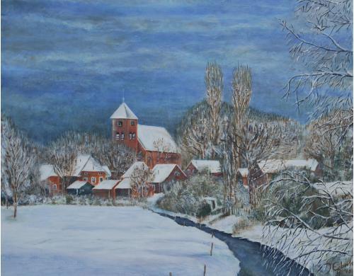 Termunten - 2010 - Acryl schilderij