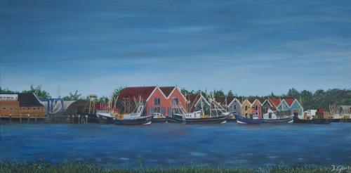 Zoutkamp - 2012 - Acryl schilderij