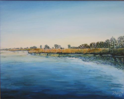 Leekstermeer - 2002 - olieverf schilderij