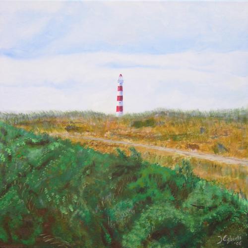 Ameland - 2006 - Acryl schilderij