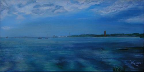 Terschelling - 2004 - Olieverf schilderij