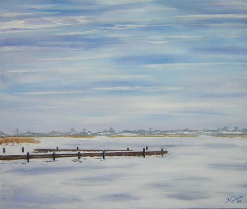 Leekstermeer - 2005 - olieverf schilderij